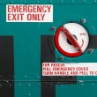 Helicopter Emergency Exit — Stock Photo #19671199