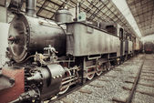 Vintage steam train — Foto de Stock