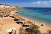 Beach on Red Sea, Sharm el sheikh — Stock Photo