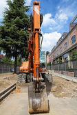 Excavatot bulldozer — Stock Photo