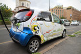 Electric car charging — Photo