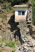 Ruined house after flood in Vernazza, Cinque Terre Italy — Stock Photo