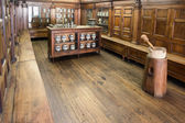 Antique pharmacy laboratory — Stock Photo
