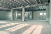 Sala de armazém industrial — Foto Stock