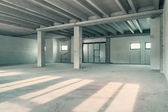 Industrial warehouse room — Stock Photo