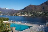 コモ湖ラーリオ村モルトラージオ、イタリアから. — ストック写真