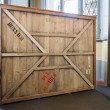 Vintage wooden crate — Stock Photo