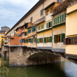 Ponte Vecchio in Florence, Italy. - Stock Photo