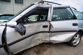 Car crash, insurance concept — Stock Photo