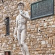 David of Michelangelo in Florence, Italy - Stock Photo