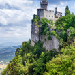 San Marino second tower — Stock Photo