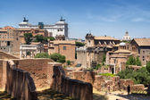 Roman forum. Rome, Italy — Stock Photo