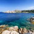 Wonderful sea in Capo Testa, on north of Sardinia. Italy — Stock Photo