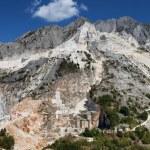 Carrara mountain and marble stone pit, Tuscany, Italy — Stock Photo #29920239