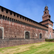 Sforza's Castle in Milan, Italy — Stock Photo