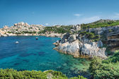Sardinia beach, wonderful sea in Capo Testa. Italy — Stock Photo