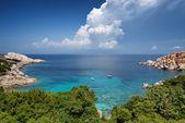 Capo Testa bay in Sardinia. Italy — Stock Photo