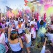 The Color Run 2013 in Milan, Italy — Stock Photo