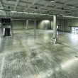 Empty warehouse interior — Stock Photo