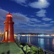 Night lighthouse — Stock Photo #35368135