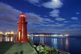 Night lighthouse — Stock Photo
