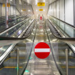 Stock Photo: Modern escalators