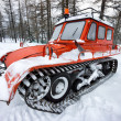 Old frozen snow car — Stock Photo #38189295