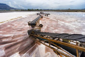 Trapani salt pan in Sicily, Italy — Stock Photo