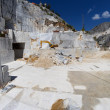 Stock Photo: Quarry of white marble in Carrara, Tuscany, Italy