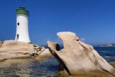 Palau Lighthouse in Sardinia, Italy — Stock Photo