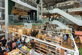 New EATALY store and restaurant in Milan, Italy — Stock Photo