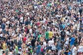Толпа людей — Стоковое фото