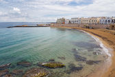 On Salento the Beach of Gallipoli, Puglia, Italy — Foto Stock