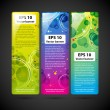 Square banners — Vector de stock #26048281