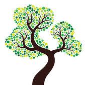 Beautiful tree — Stock Vector