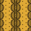 Lace and mesh seamless pattern. — Stock vektor