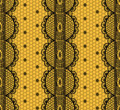 Lace and mesh seamless pattern. — Stock Vector
