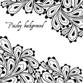 Doodle paisley background. — Stock Photo
