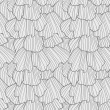 Doodle abstract frills seamless pattern. — Stock Vector