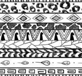 Padrão sem emenda ornamental étnica — Vetorial Stock