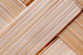 Woven wood texture — Stock Photo