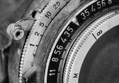 Detail of an old camera — Stock Photo