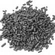 Activated carbon granules — Stock Photo