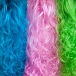 Colorful wigs — Stock Photo