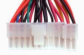Computer power supply socket — Stock Photo