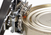 The can opener close up — Stock Photo