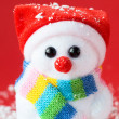 Christmas snowman — Stock Photo #34496253