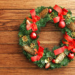 Christmas Wreath — Stock Photo #34497199