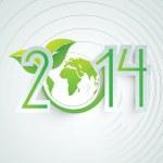 2014 globe — Stock fotografie #37846629