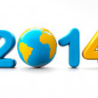 Happy New Year 2014 — Stock Photo #37846853